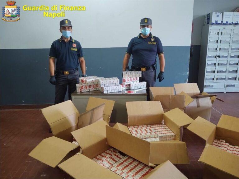 Cotrabbandiere di sigarette con reddito di cittadinanza