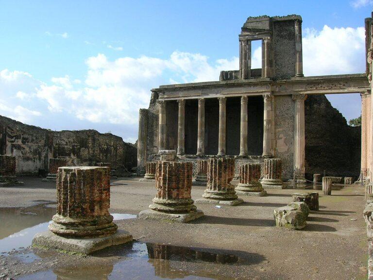 Pompei: sei episodi Podcast sulla città antica