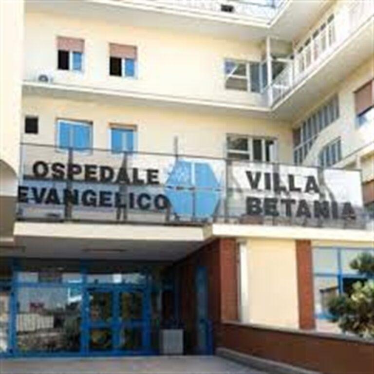 Ospedale Evangelico Betania, aperto ai pazienti ricoverati
