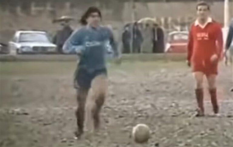Luca, salvato dalla generosità di Maradona