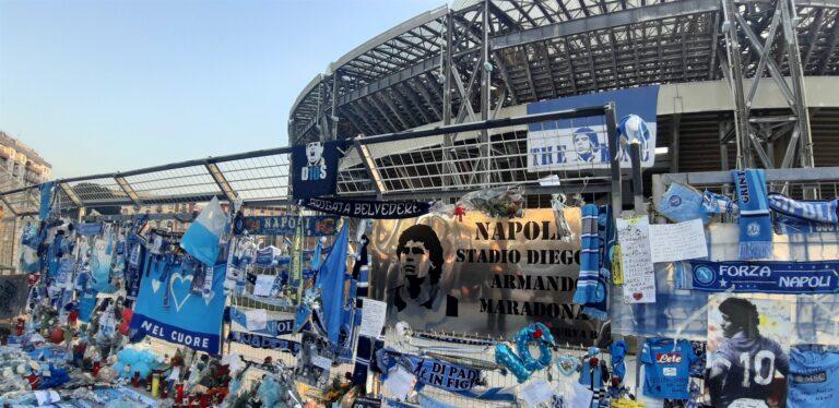 Nasce lo stadio Diego Armando Maradona
