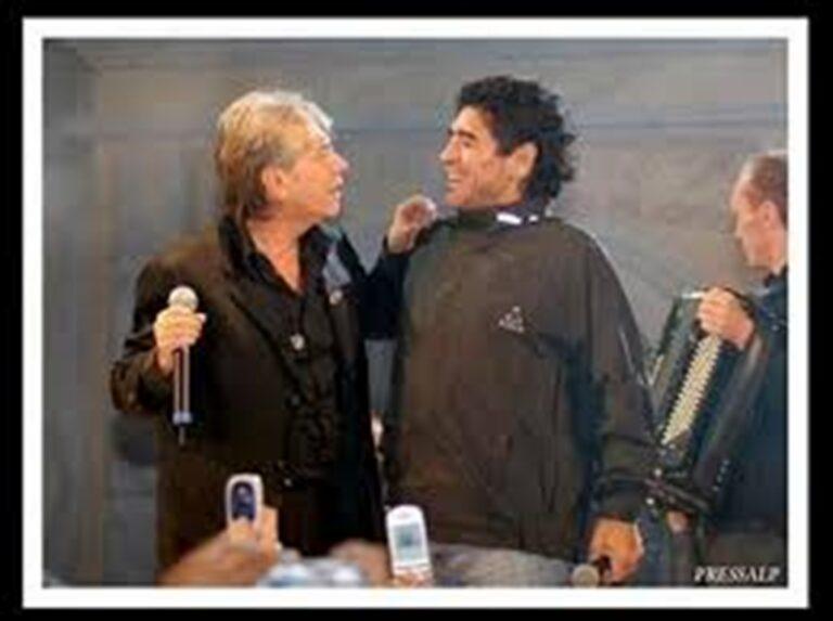 """Il ricordo di Nino D'Angelo: """"Maradona tirò a porta vuota, non per segnare ma per colpire per tre volte la traversa"""""""
