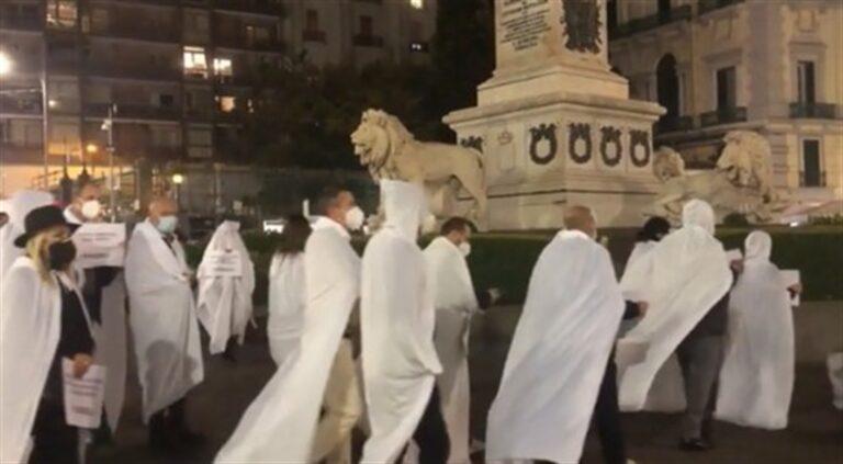 La protesta dei fantasmi