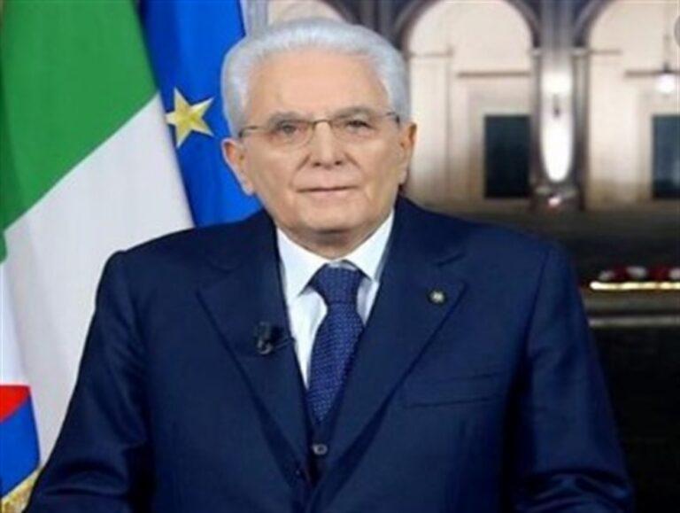 """Presidente Mattarella sferza la politica: """"Non correre dietro a illusori interesse di parte. È l'ora dei costruttori"""""""