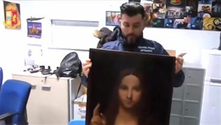 La polizia ritrova il dipinto 'Salvator Mundi' del XV secolo