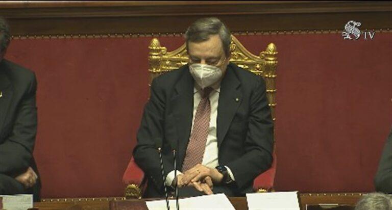 Il nuovo premier Draghi e il discorso 'alto' per il Governo del Paese
