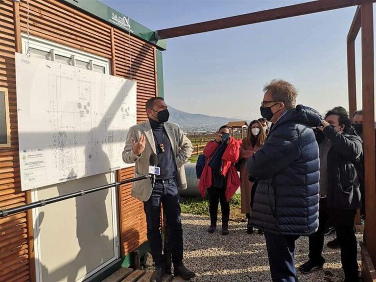 """Prefetto Napoli visita la """"Masseria Ferraioli"""", bene confiscato alla camorra"""