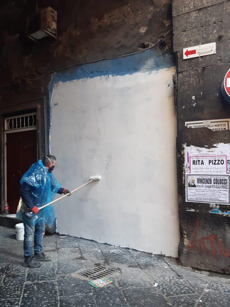 """Cronista minacciato nel corso della rimozione del murales e dell'altarino. Fnsi e Sugc:""""Fatto gravissimo"""""""