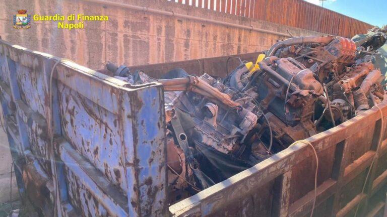 Scoperto stoccaggio di rifiuti speciali nel Porto di Napoli