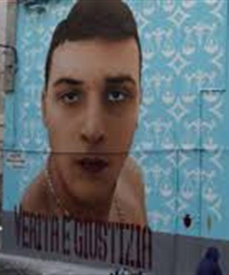 """Appello per il murales di Ugo Russo: """"Stop cancellazione, serve Verità e Giustizia"""""""