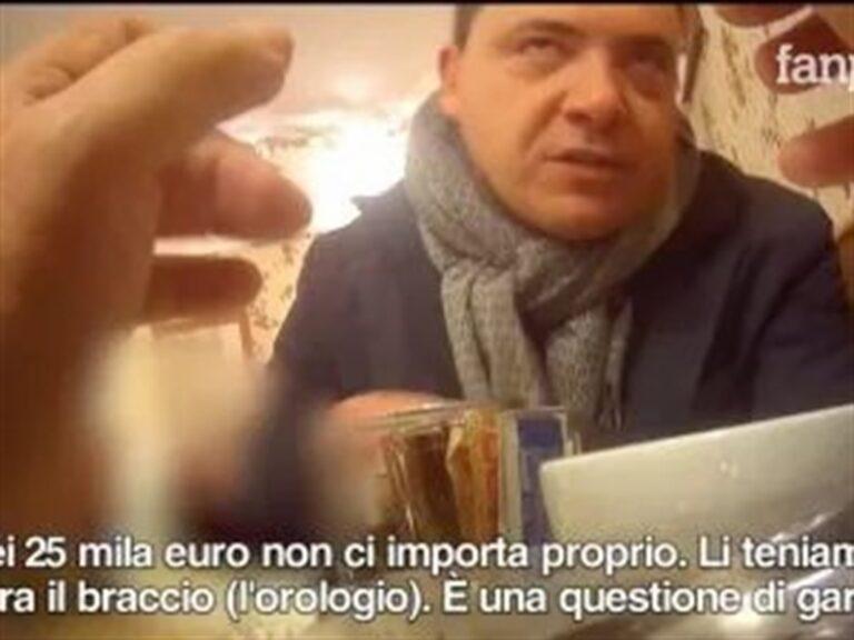 Scandalo rifiuti, arrestato Oliviero, ex consigliere di Ercolano: aveva una pistola, coltelli e del denaro
