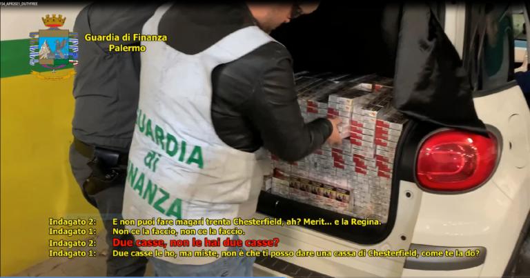 Sigarette e droga spedita da Napoli a Palermo: 15 arresti
