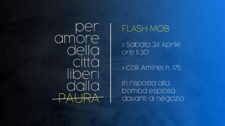 Liberi dalla paura, flash mob contro clan e bombe