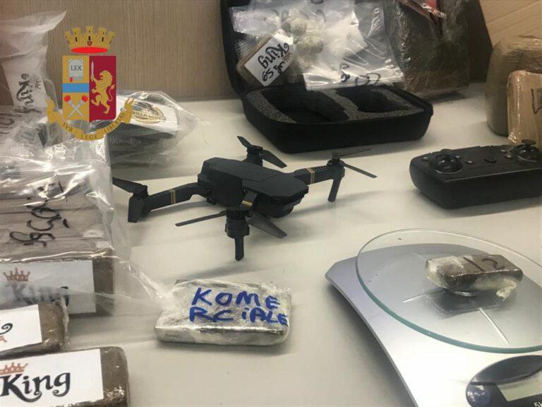 Pusher 2.0 con un sofisticato drone monitorava i movimenti di polizia e carabinieri