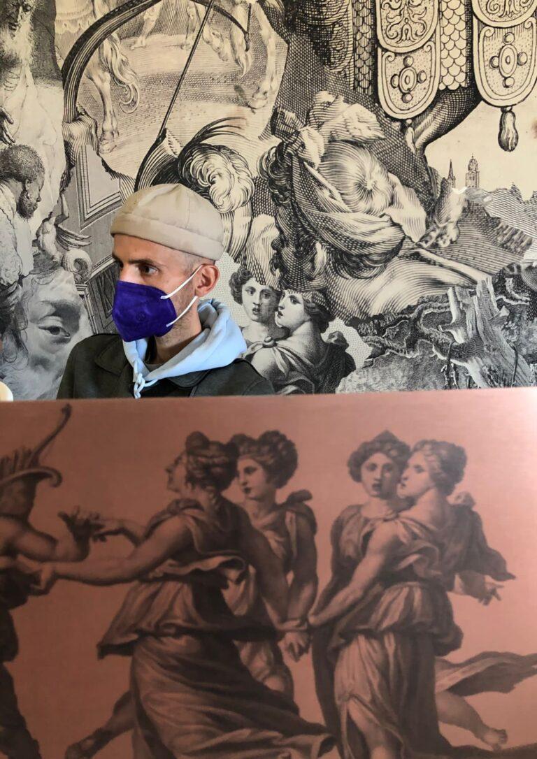 Nel Cortile monumentale del Museo e Real Bosco di Capodimonte sarà presentata la mostra di Diego Cibelli