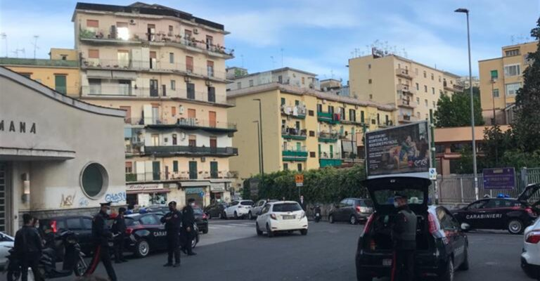 Fuorigrotta, scattano i controlli dei carabinieri