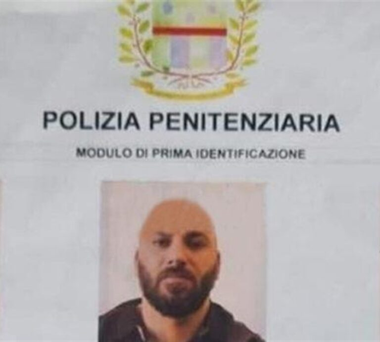 Pippotto rintracciato e arrestato: era evaso dal carcere di Perugia