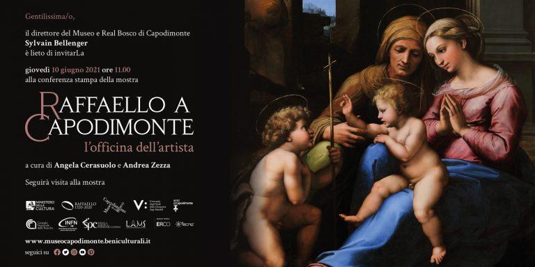 Domani al Museo e Real Bosco di Capodimonte inaugurazione della mostra 'Raffaello a Capodimonte'