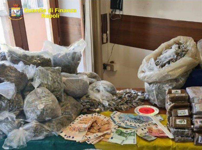 Finanza sequestra a Pozzuoli stupefacenti per oltre 250mila euro